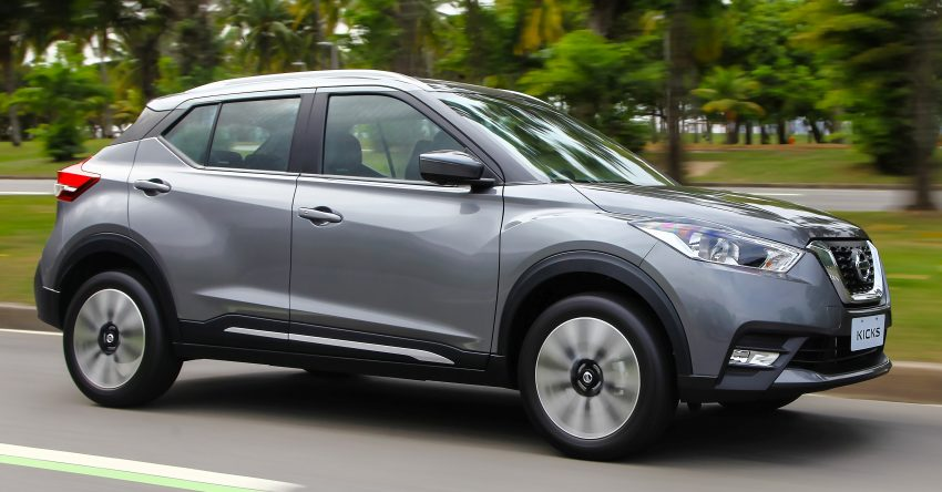 Nissan Kicks – Brazil starts the ball rolling in August Image #525616