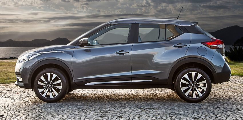 Nissan Kicks – Brazil starts the ball rolling in August Image #525615