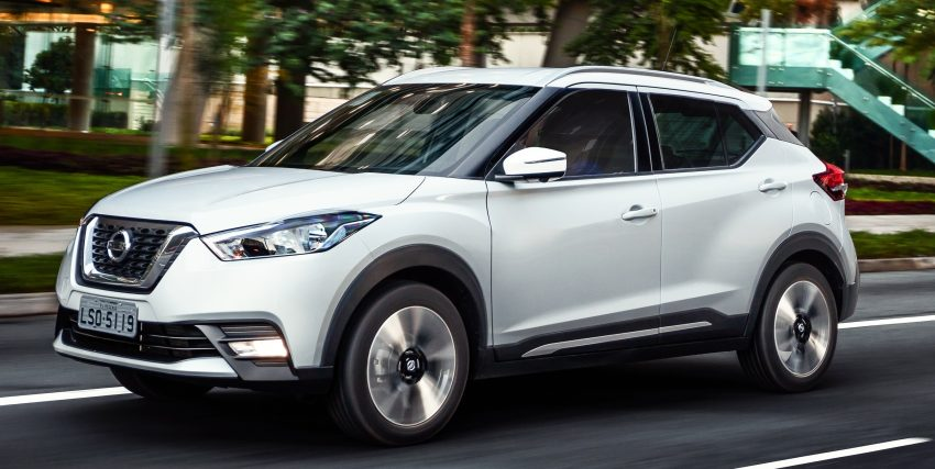 Nissan Kicks – Brazil starts the ball rolling in August Image #525603