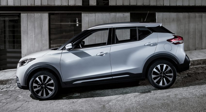 Nissan Kicks – Brazil starts the ball rolling in August Image #525629