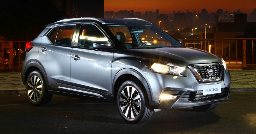 Nissan Kicks – Brazil starts the ball rolling in August Image #525626
