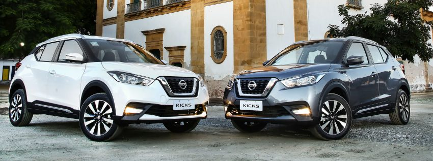 Nissan Kicks – Brazil starts the ball rolling in August Image #525621