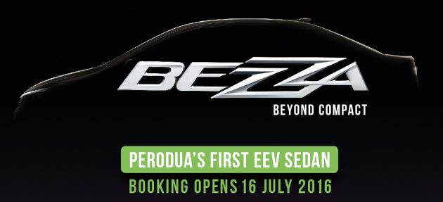 perodua bezza booking