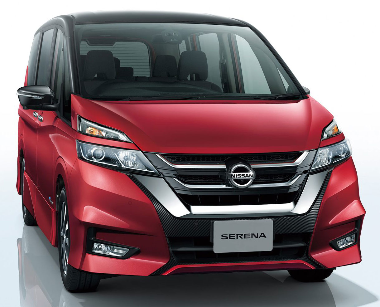 all new nissan serena fifth generation model debuts image 517874. Black Bedroom Furniture Sets. Home Design Ideas