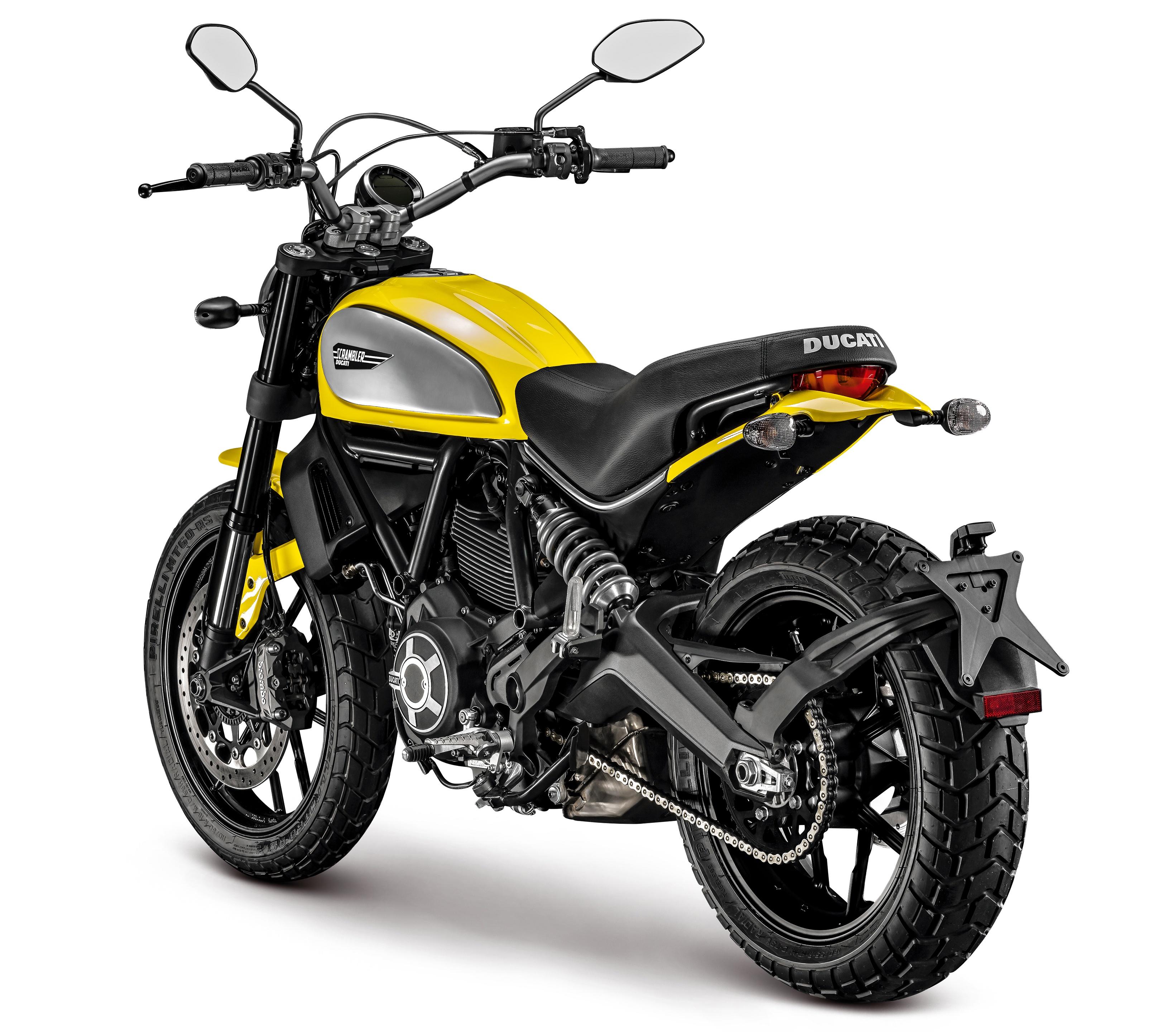 Ducati Scrambler Rear