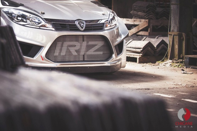 Proton Iriz rally car teaser