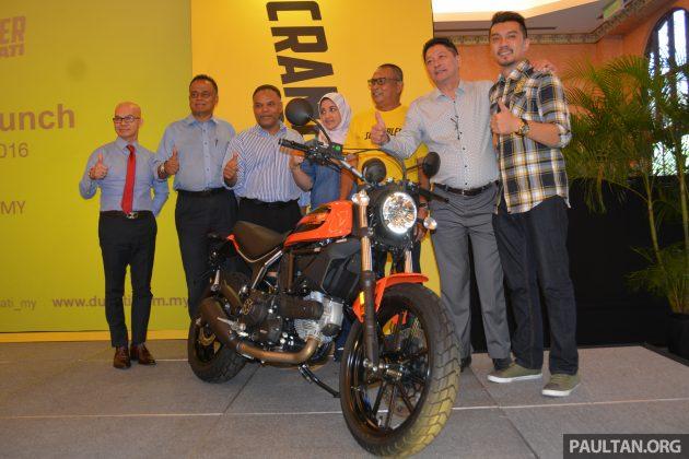 2016 Ducati SCrambler Sixty2 launch-1