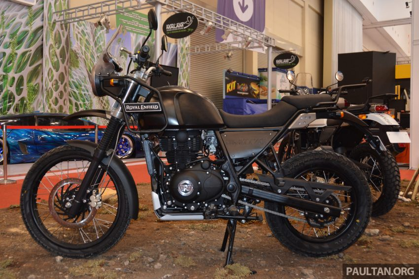 GIIAS 2016: Royal Enfield Himalayan – first look at Enfield's new dual-purpose with new L410 engine Image #533810