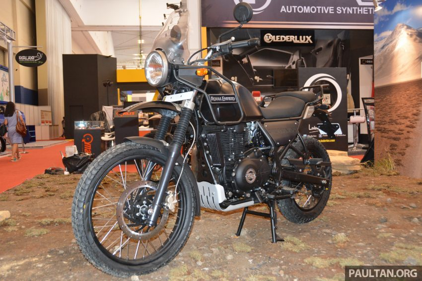 GIIAS 2016: Royal Enfield Himalayan – first look at Enfield's new dual-purpose with new L410 engine Image #533811