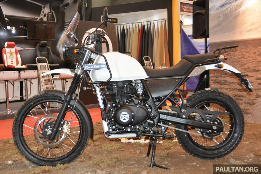 GIIAS 2016: Royal Enfield Himalayan – first look at Enfield's new dual-purpose with new L410 engine Image #533839