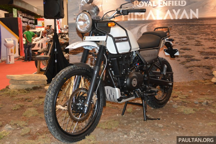 GIIAS 2016: Royal Enfield Himalayan – first look at Enfield's new dual-purpose with new L410 engine Image #533842