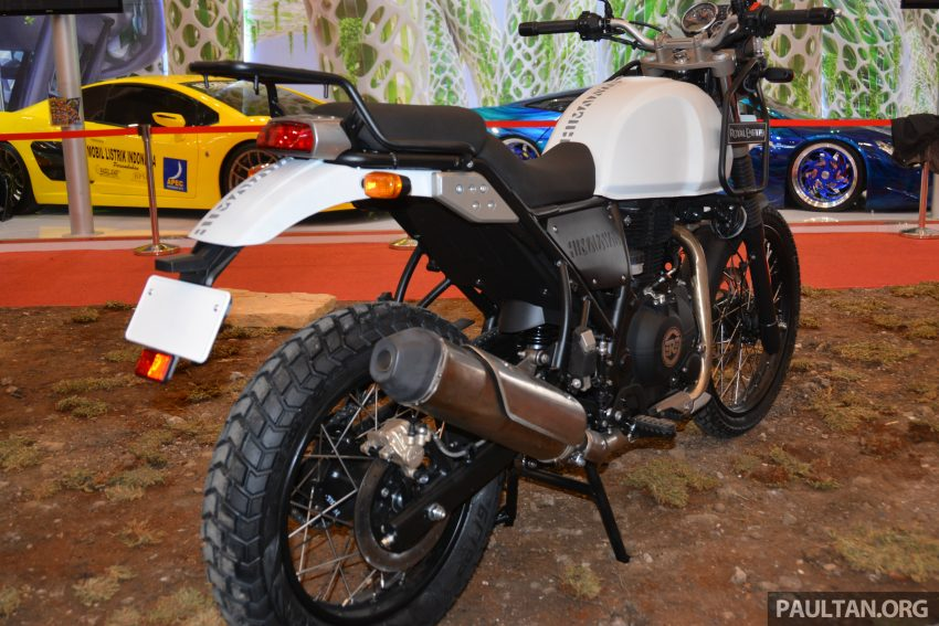GIIAS 2016: Royal Enfield Himalayan – first look at Enfield's new dual-purpose with new L410 engine Image #533850