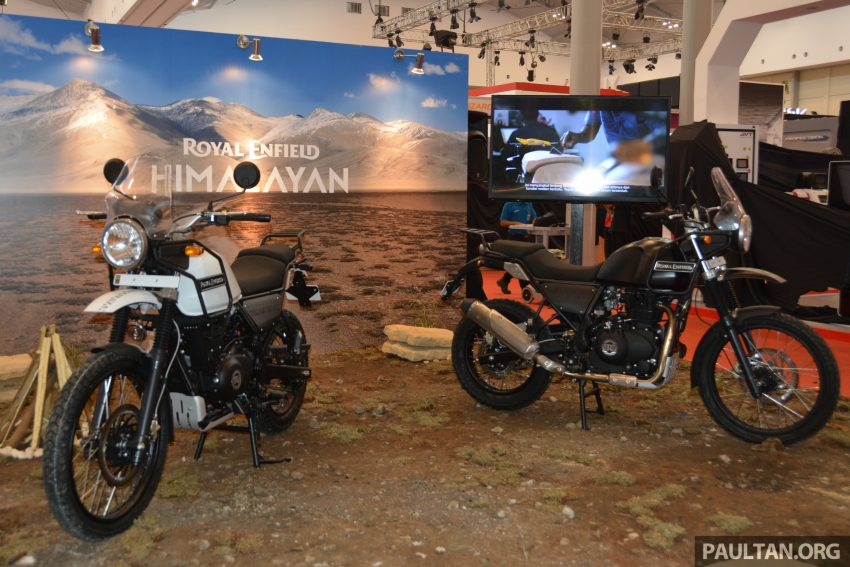 GIIAS 2016: Royal Enfield Himalayan – first look at Enfield's new dual-purpose with new L410 engine Image #533858