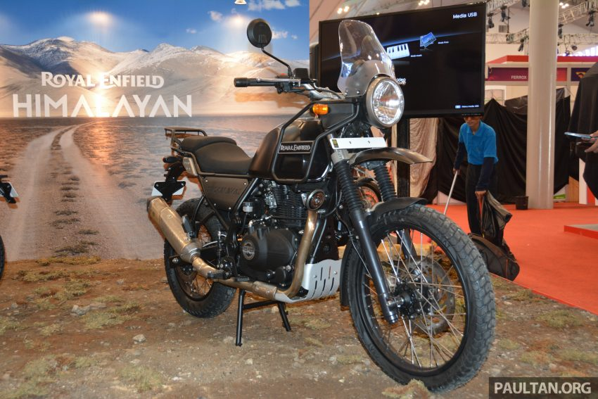 GIIAS 2016: Royal Enfield Himalayan – first look at Enfield's new dual-purpose with new L410 engine Image #533813