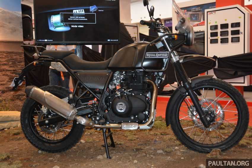 GIIAS 2016: Royal Enfield Himalayan – first look at Enfield's new dual-purpose with new L410 engine Image #533814