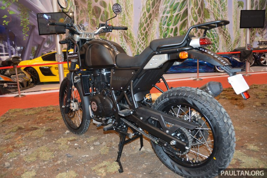 GIIAS 2016: Royal Enfield Himalayan – first look at Enfield's new dual-purpose with new L410 engine Image #533815