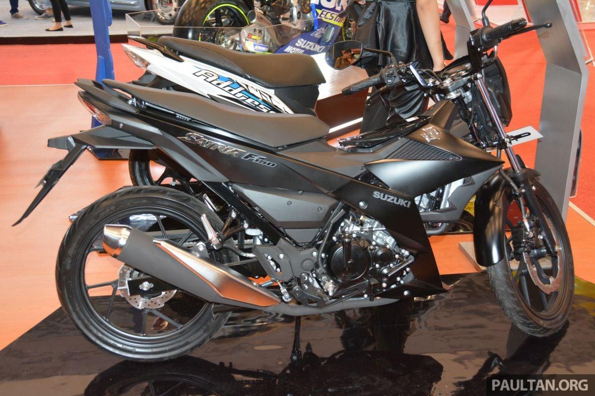 Giias 2016 Suzuki Satria F150 The 150 Cc Supercub Belang 10 Fu Replacement That Malaysians Wont Get