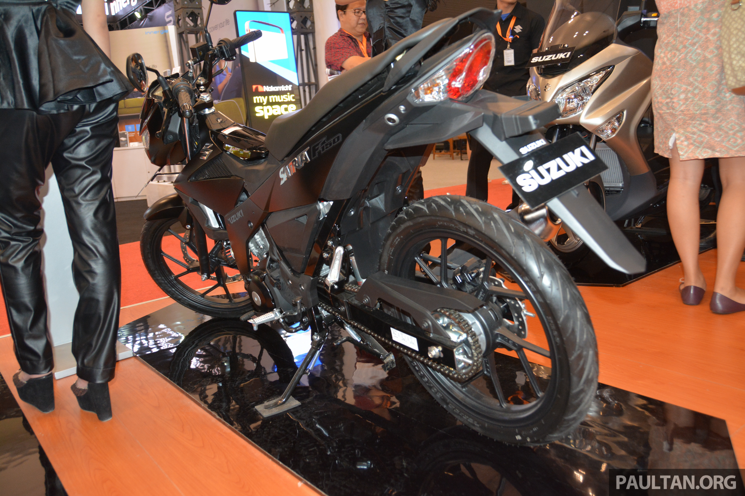 Giias 2016 Suzuki Satria F150 The 150 Cc Supercub Belang All New Replacement That