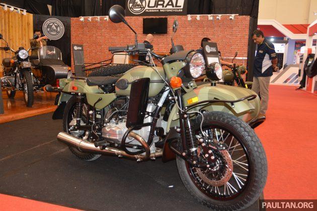 2016 GIIAS Ural Motorcycles sidecar -2