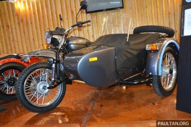 2016 GIIAS Ural Motorcycles sidecar -74