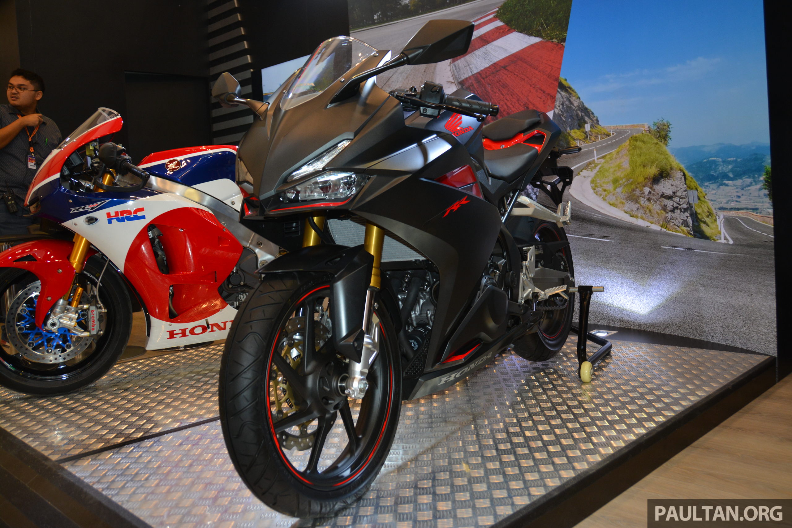GIIAS 2016: Honda CBR250RR - the new 250 cc sports