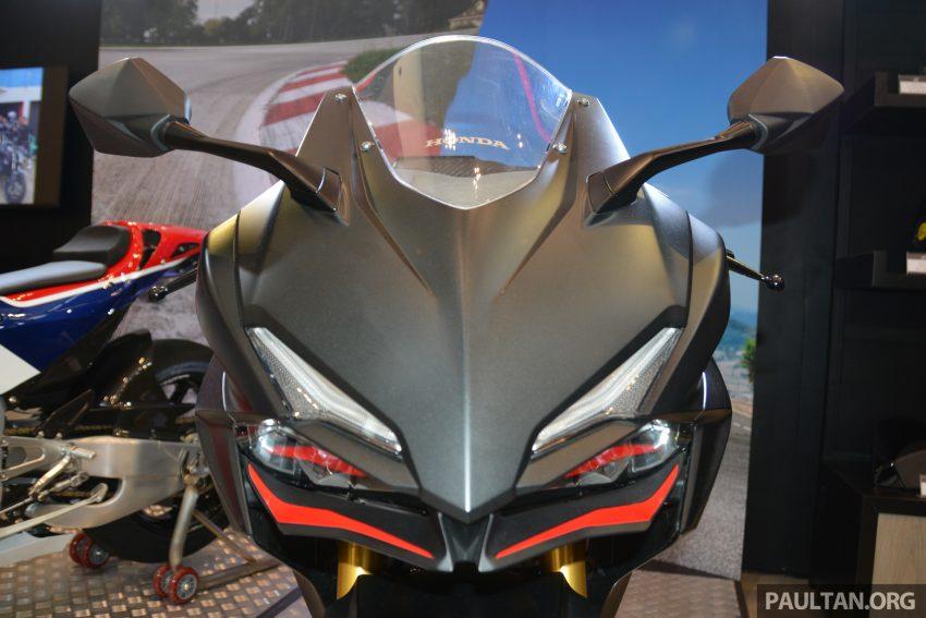 GIIAS 2016: Honda CBR250RR – the new 250 cc sports Image #533035