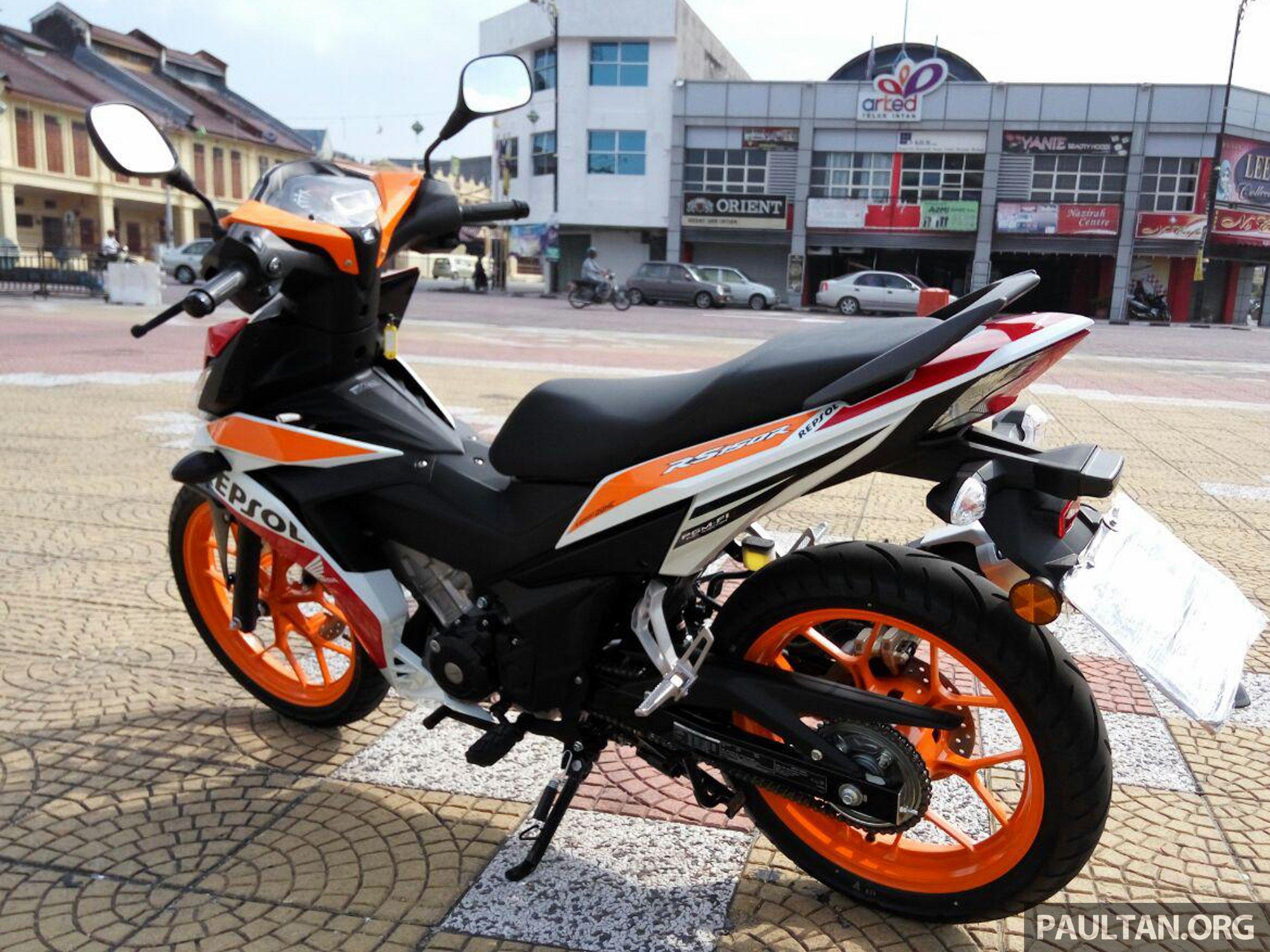 Back to Story: GALERI: Honda RS150R 2016, pesaing kapcai 150 cc