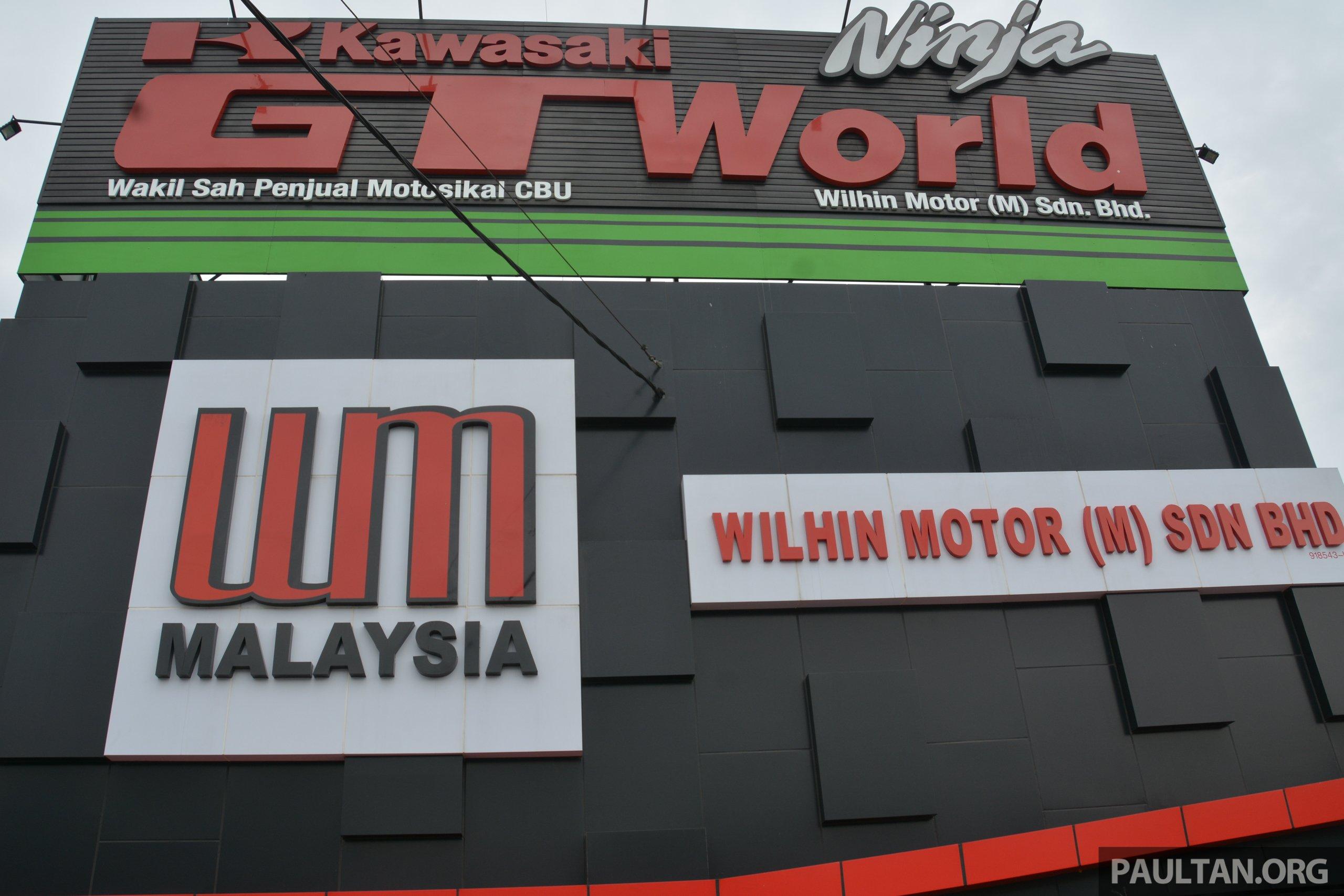 Kawasaki Gt World Ninja Showroom And Service Centre Opens At Wilhin Motor In Balakong Selangor Paultan Org