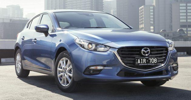 2016 Mazda 3 Australia launch