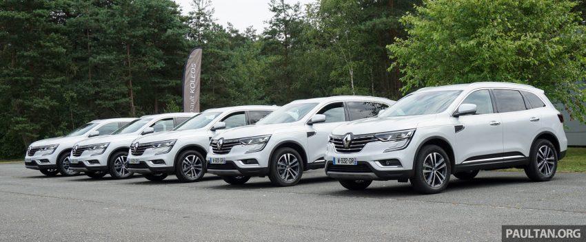 DRIVEN: 2016 Renault Koleos sampled in France – potential alternative to the Honda CR-V, Mazda CX-5? Image #536158