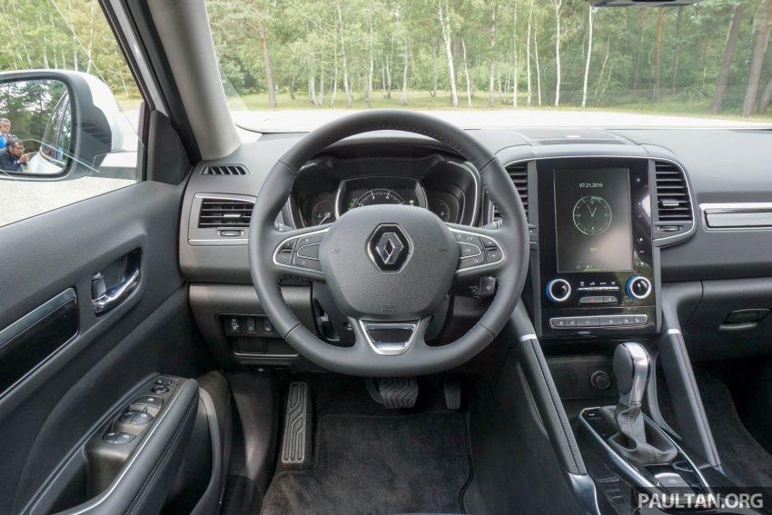 DRIVEN: 2016 Renault Koleos sampled in France – potential alternative to the Honda CR-V, Mazda CX-5? Image #536187