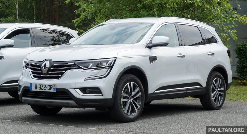DRIVEN: 2016 Renault Koleos sampled in France – potential alternative to the Honda CR-V, Mazda CX-5? Image #536160