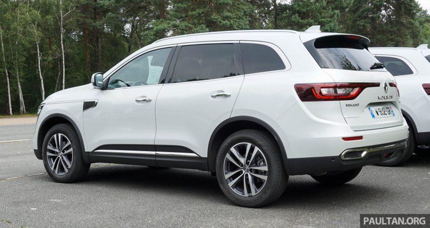 DRIVEN: 2016 Renault Koleos sampled in France – potential alternative to the Honda CR-V, Mazda CX-5? Image #536161