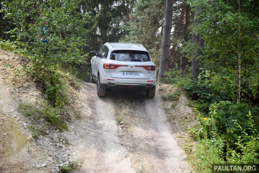 DRIVEN: 2016 Renault Koleos sampled in France – potential alternative to the Honda CR-V, Mazda CX-5? Image #536237