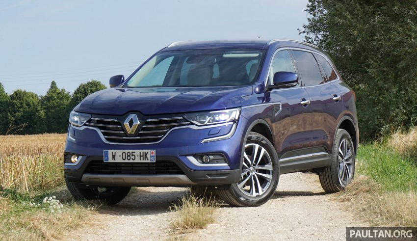 DRIVEN: 2016 Renault Koleos sampled in France – potential alternative to the Honda CR-V, Mazda CX-5? Image #536241