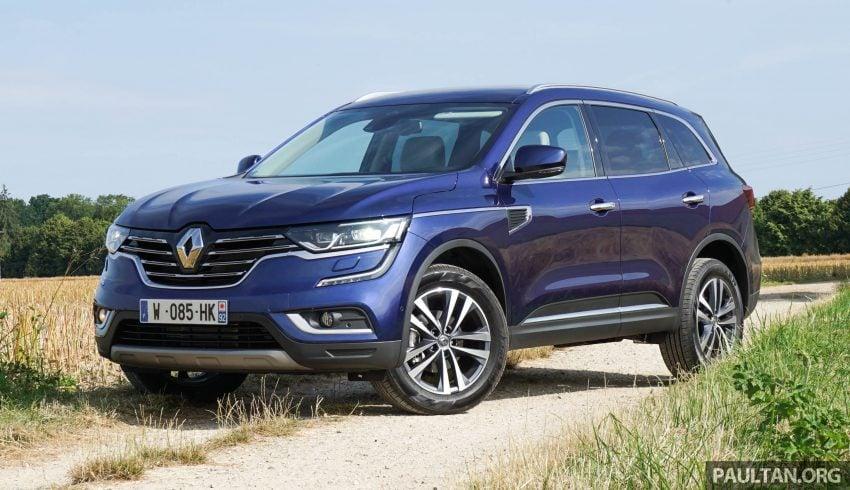 DRIVEN: 2016 Renault Koleos sampled in France – potential alternative to the Honda CR-V, Mazda CX-5? Image #536242