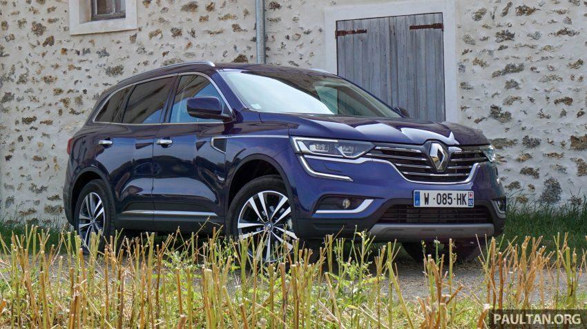 DRIVEN: 2016 Renault Koleos sampled in France – potential alternative to the Honda CR-V, Mazda CX-5? Image #536243