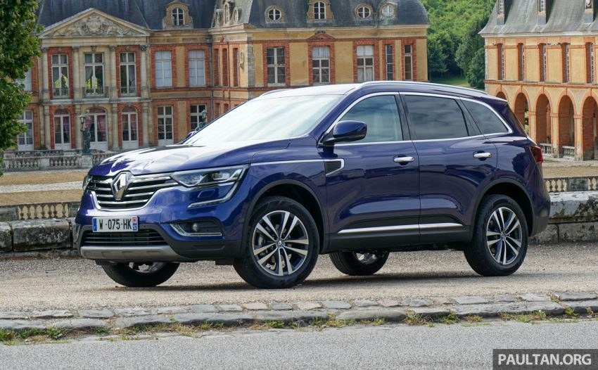 DRIVEN: 2016 Renault Koleos sampled in France – potential alternative to the Honda CR-V, Mazda CX-5? Image #536244