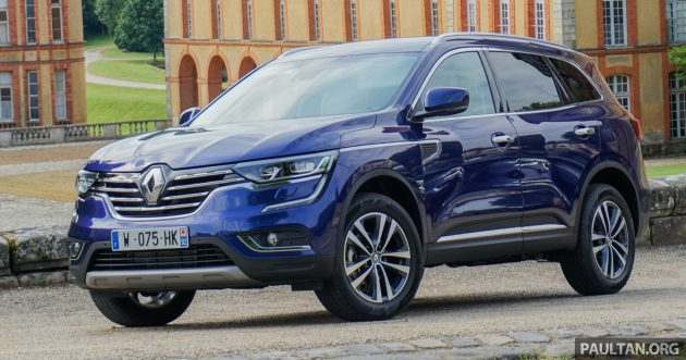 driven 2016 renault koleos second gen suv reviewed in. Black Bedroom Furniture Sets. Home Design Ideas
