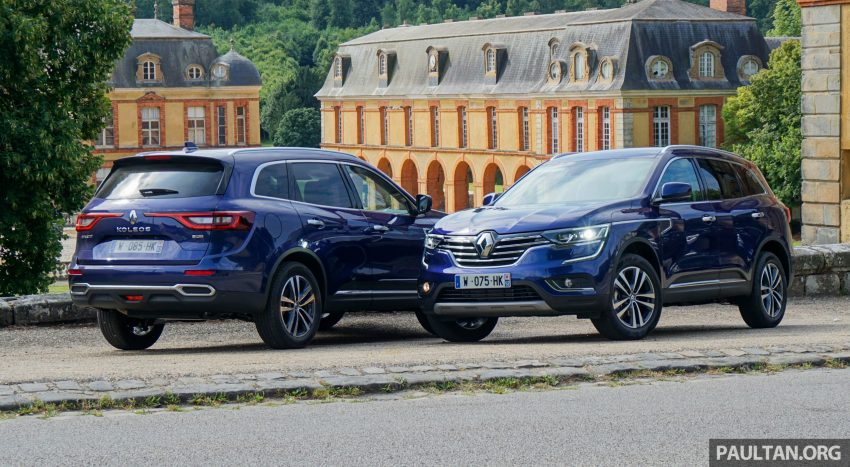 DRIVEN: 2016 Renault Koleos sampled in France – potential alternative to the Honda CR-V, Mazda CX-5? Image #536246