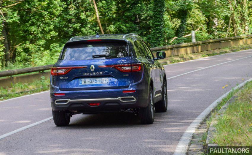DRIVEN: 2016 Renault Koleos sampled in France – potential alternative to the Honda CR-V, Mazda CX-5? Image #536248