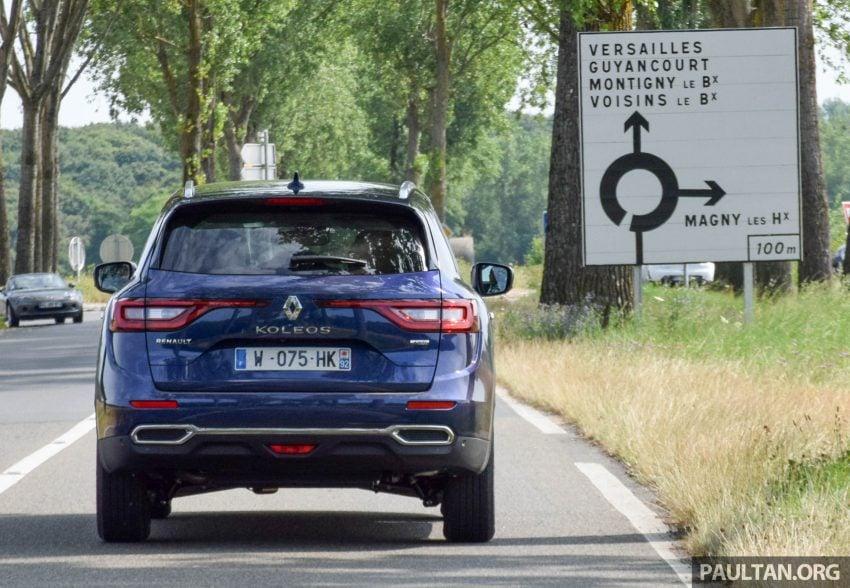 DRIVEN: 2016 Renault Koleos sampled in France – potential alternative to the Honda CR-V, Mazda CX-5? Image #536249