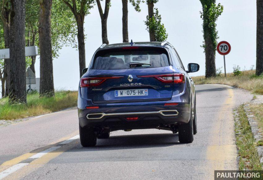 DRIVEN: 2016 Renault Koleos sampled in France – potential alternative to the Honda CR-V, Mazda CX-5? Image #536250