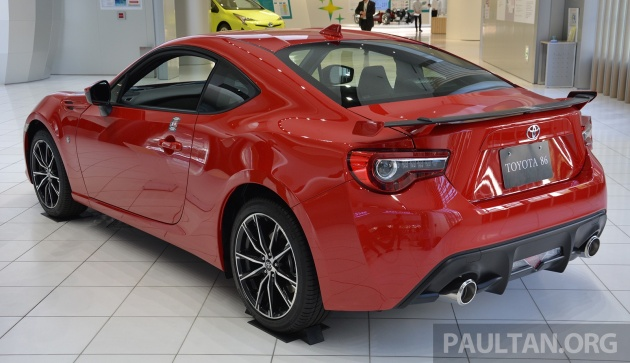 2016 Toyota 86 Facelift Japan 19