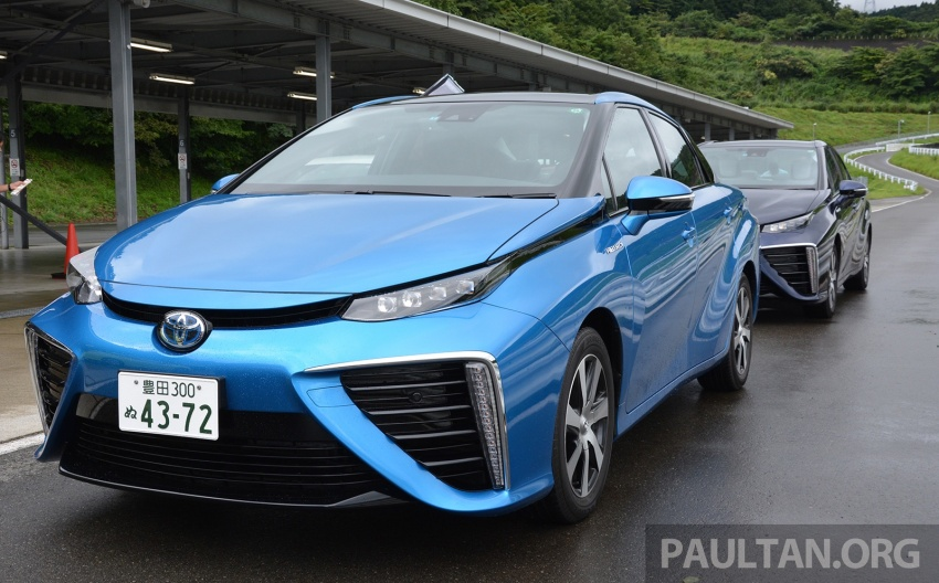 Toyota aims to sell 30k fuel cell cars per year by 2020 Image #542008