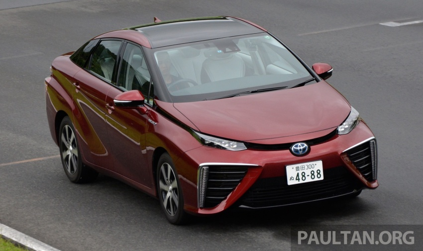 Toyota aims to sell 30k fuel cell cars per year by 2020 Image #542010