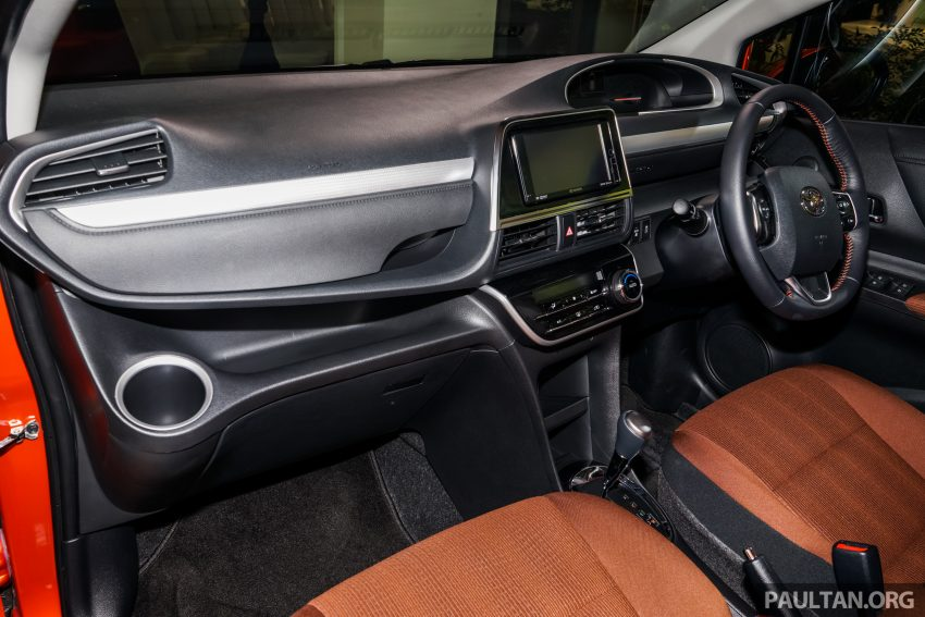 Toyota Sienta MPV launched in Malaysia, fr RM93k Image #536598