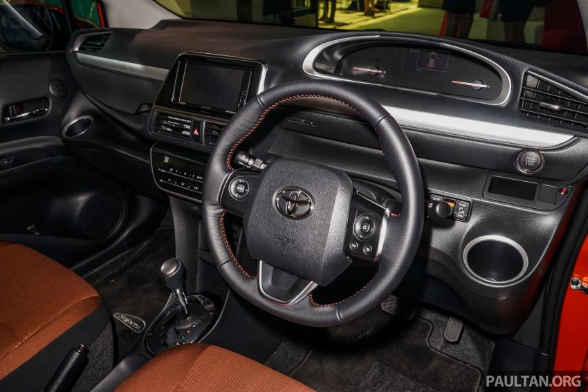 Toyota Sienta dilancarkan di Malaysia – dua varian dengan enjin 1.5L Dual VVT-i, harga bermula RM93k Image #536952