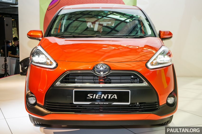 Toyota Sienta MPV launched in Malaysia, fr RM93k Image #536563