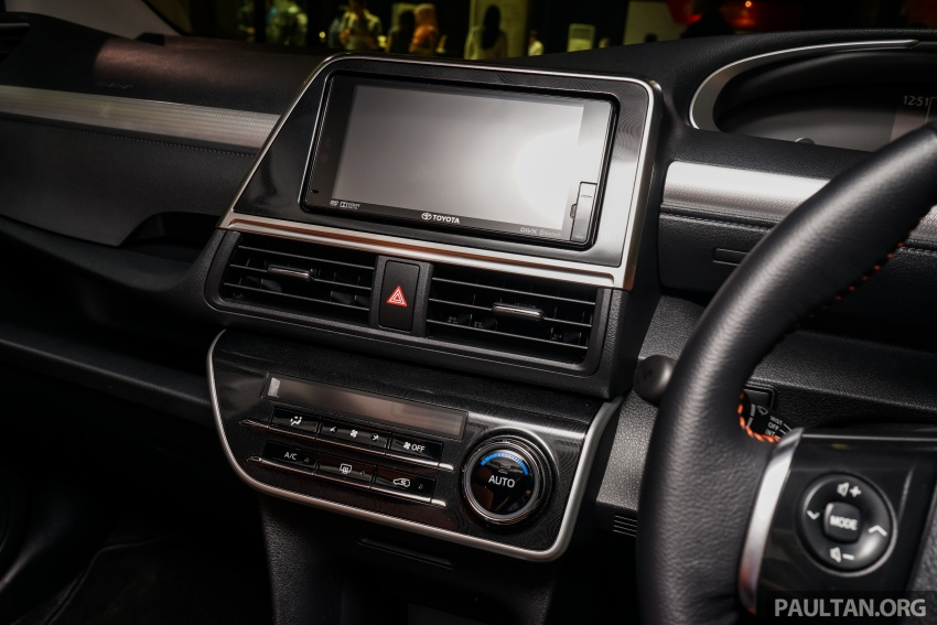 Toyota Sienta dilancarkan di Malaysia – dua varian dengan enjin 1.5L Dual VVT-i, harga bermula RM93k Image #536971